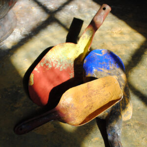 pigmenter skovle til farvedosering
