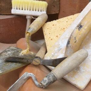 murerske fugeske murerhammer filtsebræt og kalkkost
